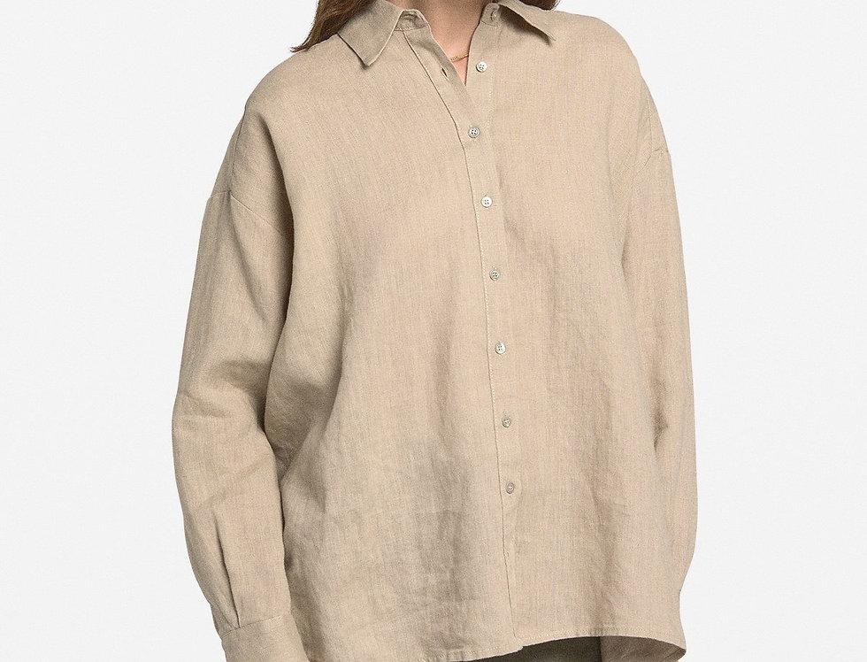 Camisa de linho  -Ottod'Ame