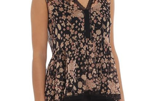 Top Floral twinset