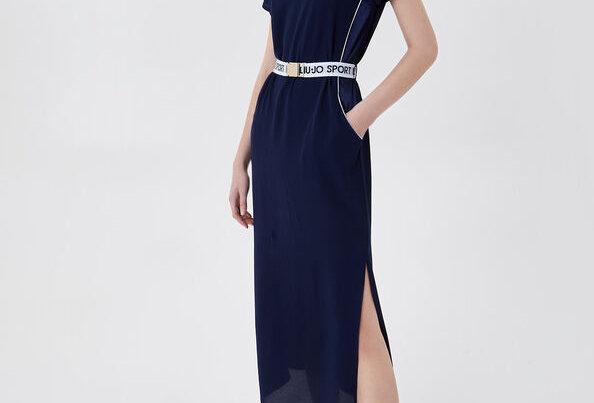 Vestido longo com cinto - Liu.jo