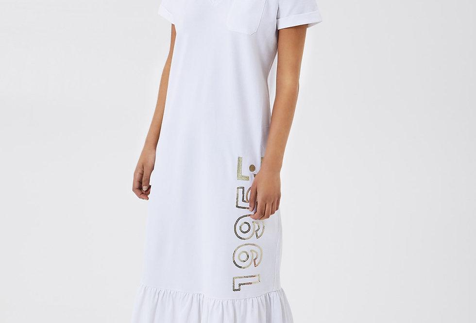 Vestido longo piquet - Liu.Jo