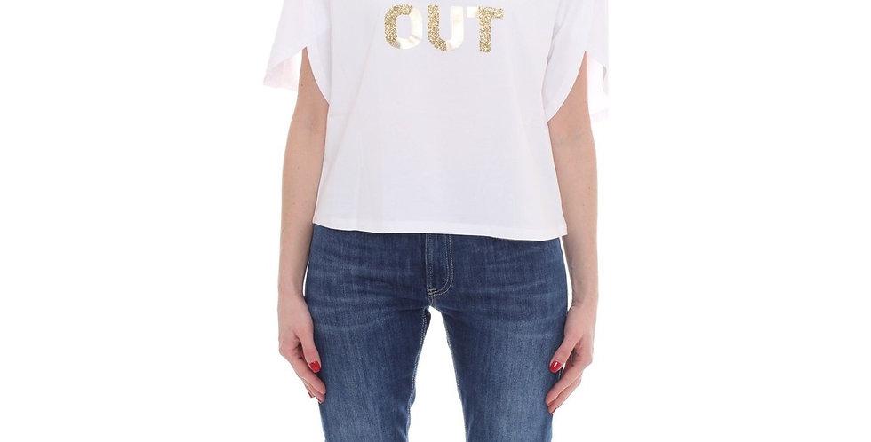 Camiseta com slogan - Liu.Jo