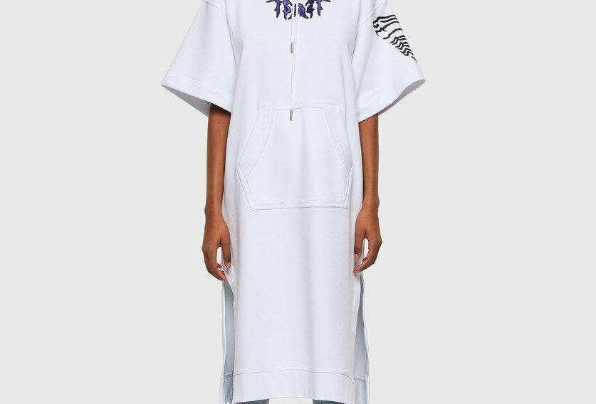 D-ORSY Vestido de capuz longo  Diesel