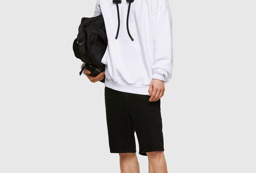 S-Balirib Sweat-Shirt em algodão orgânico   - Diesel