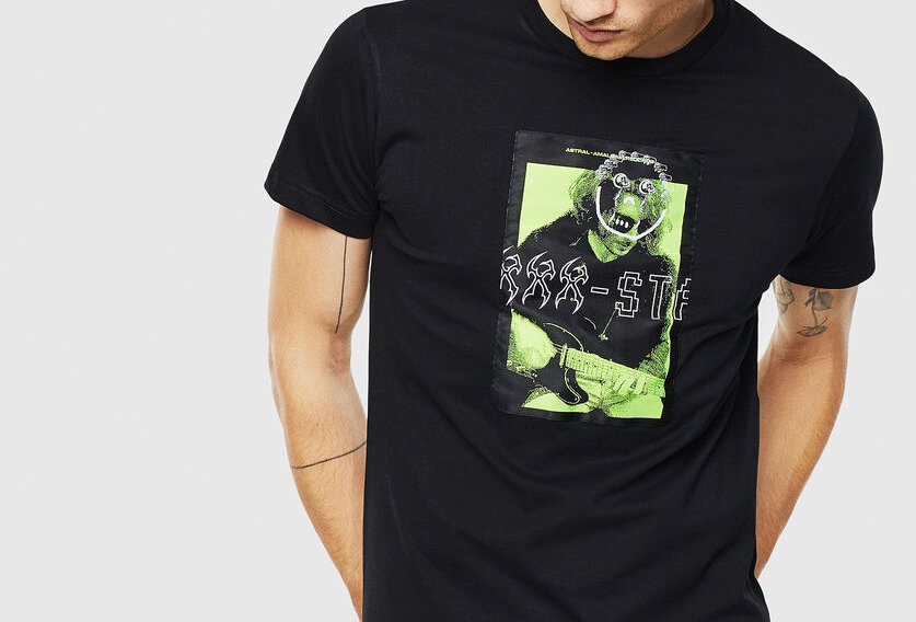 T-DIEGO-J1 T-shirt with graphic patch