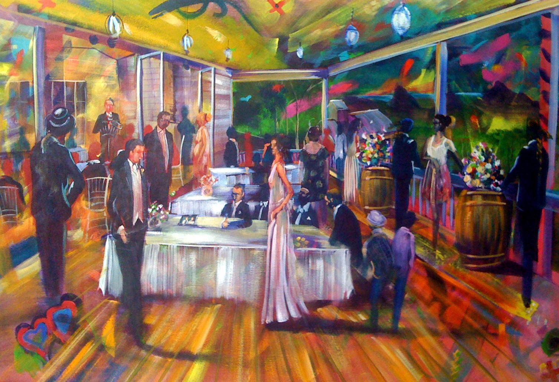 Nadia and Andrew Wedding Artscape 001