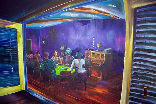Marita's Garage @ Port Fairy Folk Fest - ' Texas Hold'em'
