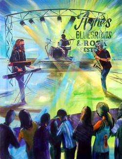 Agnes Blues 2016 no 2 green dream