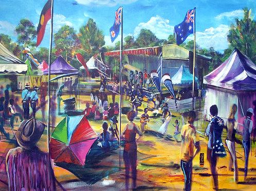 Australia Day Koshagia Park CampbelltownDaytime