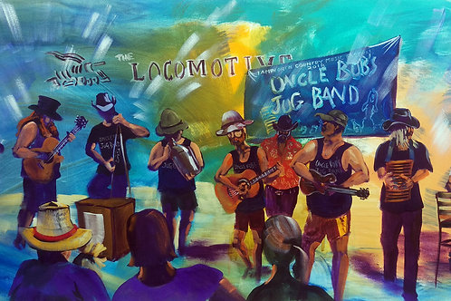 2018 TCMF Locomotive Hotel - Uncle Bobs Jug Band