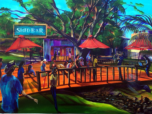 Airlie Beach Music Festival  'the Shed'