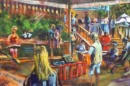 Eumundi Markets - Jabaru and Kebabs'