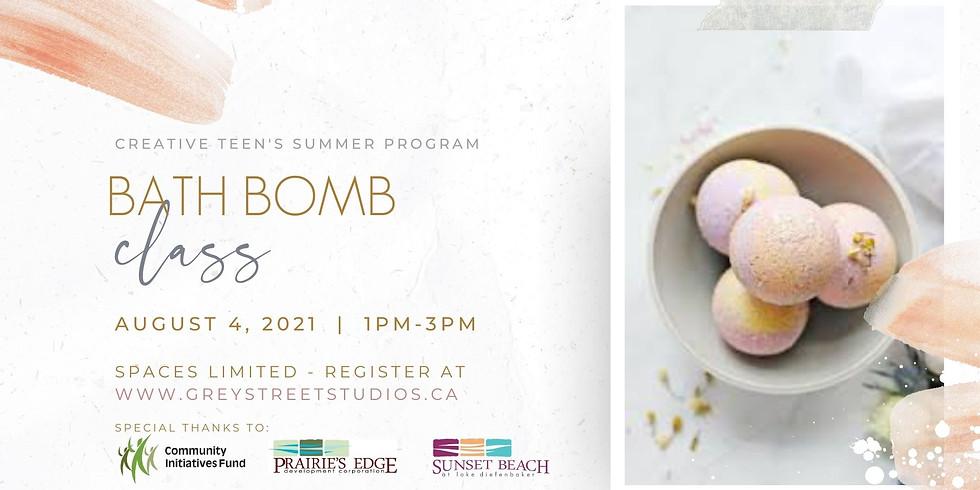 Teen Bath Bombs Class