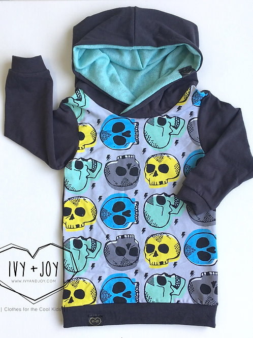 Skull Hooded Top - RTS