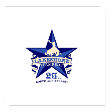 Lakeshore Stampede 25th Anniversary - Logo by Grey Street Studios