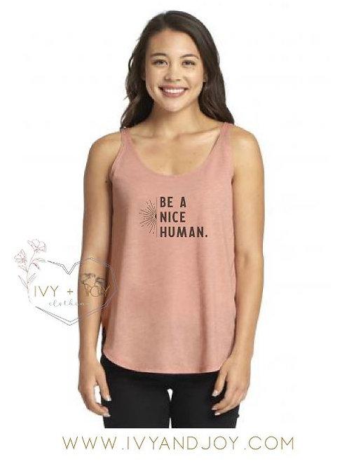 Nice Human Tank
