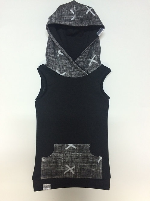 Knock Out Sleeveless Hooded Top 18-24m