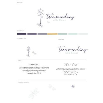 Transcending - Brand Visioning + Website by Grey Street Studios