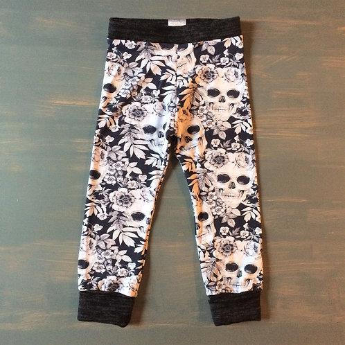 Floral Skull Leggings/Shorts