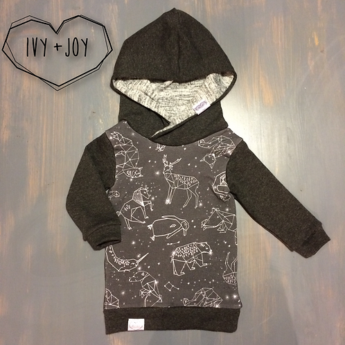 Constellation Hooded Top