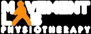 Movement Lab Logo (White, Org, Transp.)