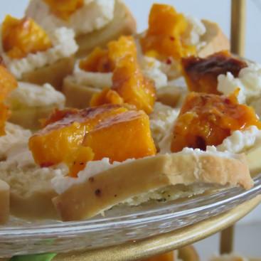Pumpkin Ricatta Bites