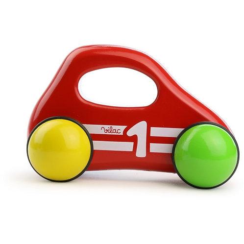 VILAC - voiture 1er âge Rouge
