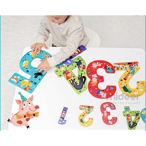 MIDEER - Mon 1er puzzle 12345 histoires!