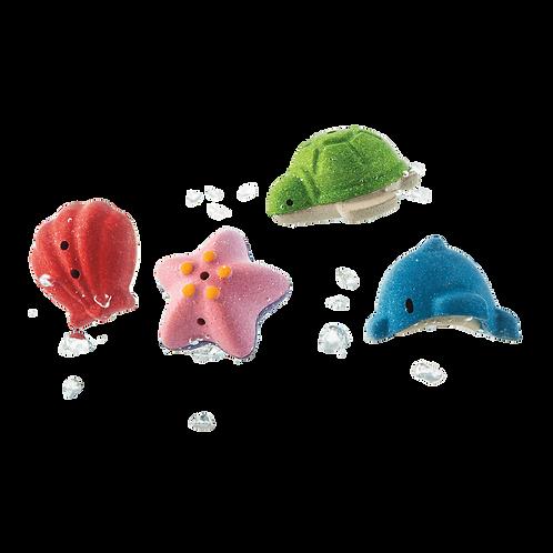 PLAN TOYS  - Animaux marins de bain