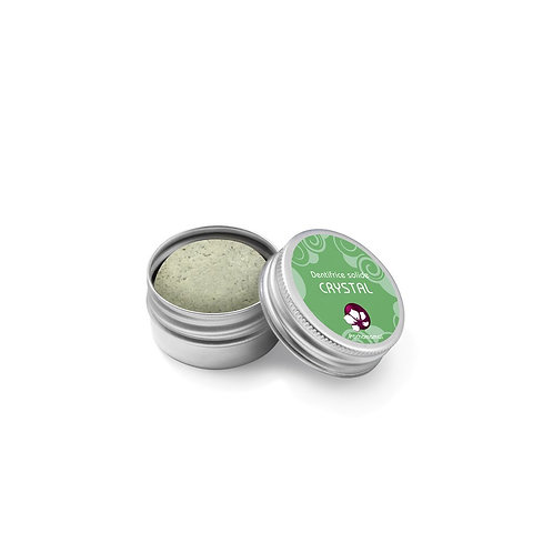 PACHAMAMAÏ - Dentifrice solide CRYSTAL aux 2 menthes