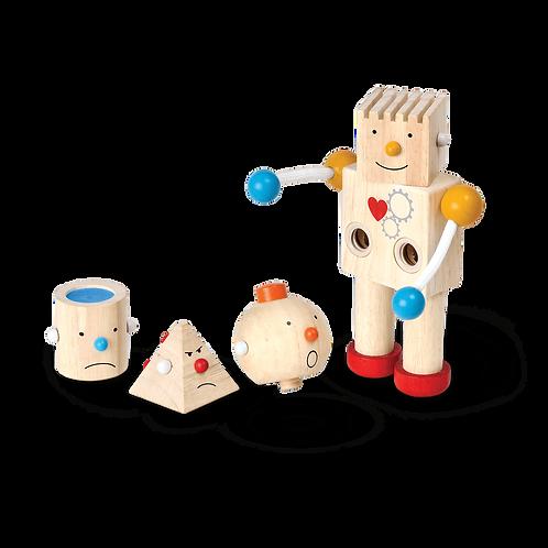 PLAN TOYS  - Robot transformeur émotions