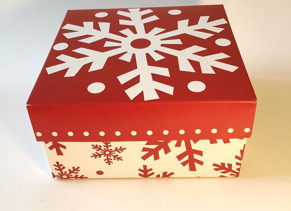 Snowflake Bath Product Gift Box