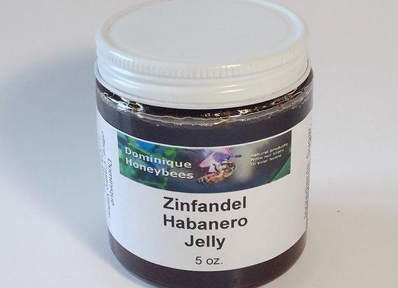 Zinfandel Habanero Jelly