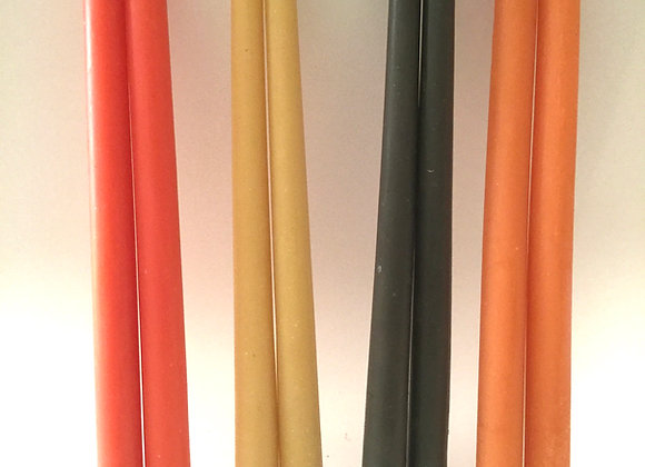 Beeswax Tapers - Scented and Natural