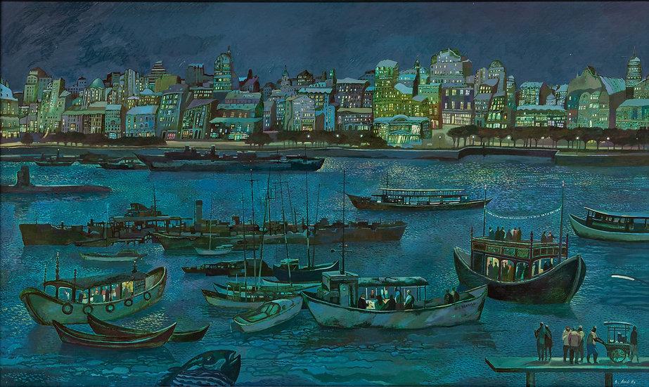 Город у моря