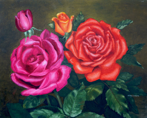 Pink & Red Roses