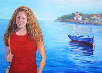 Nicole in Greece