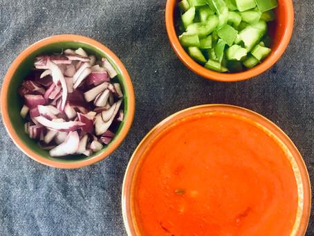 Gazpacho and antioxidants