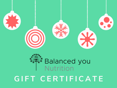 Christmas Nutrition Gift Vouchers Available