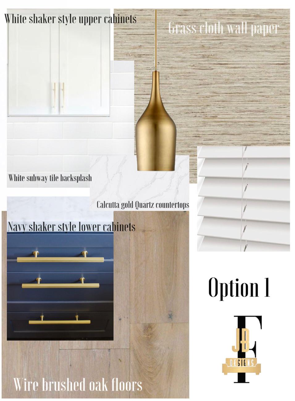 Option 1 Design board.