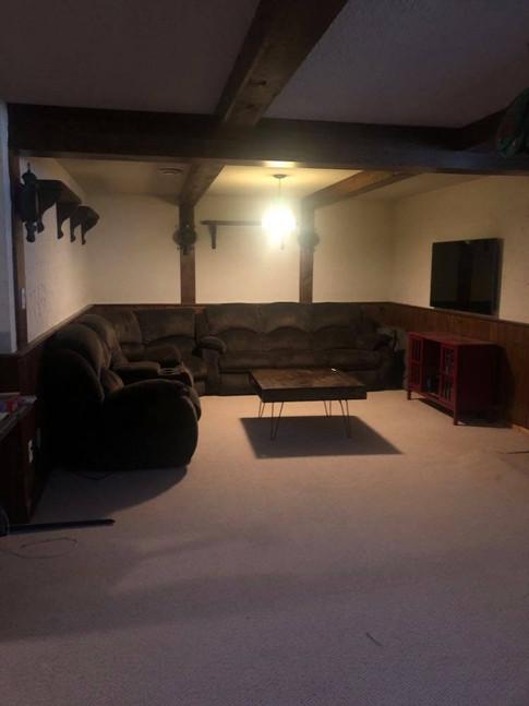 Media Room Before