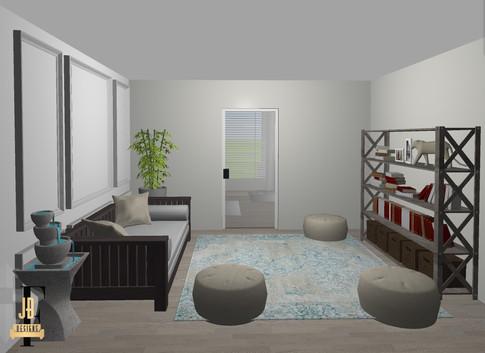 Meditation room/workshop space.