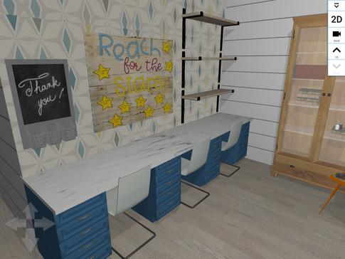 Kids Craft/Activity area