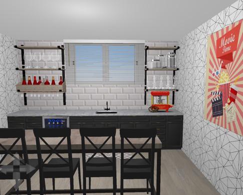 Kitchen/Wet bar