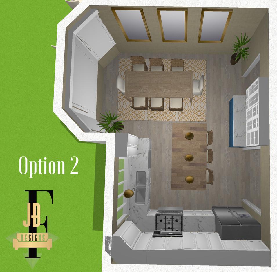 Option 2 new floor plan.