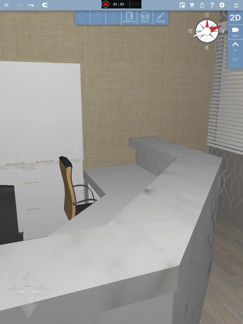 3D walkthrough