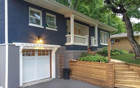 New Carridge house garage door installed!