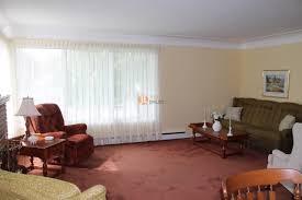 Original Living/dining rooms.