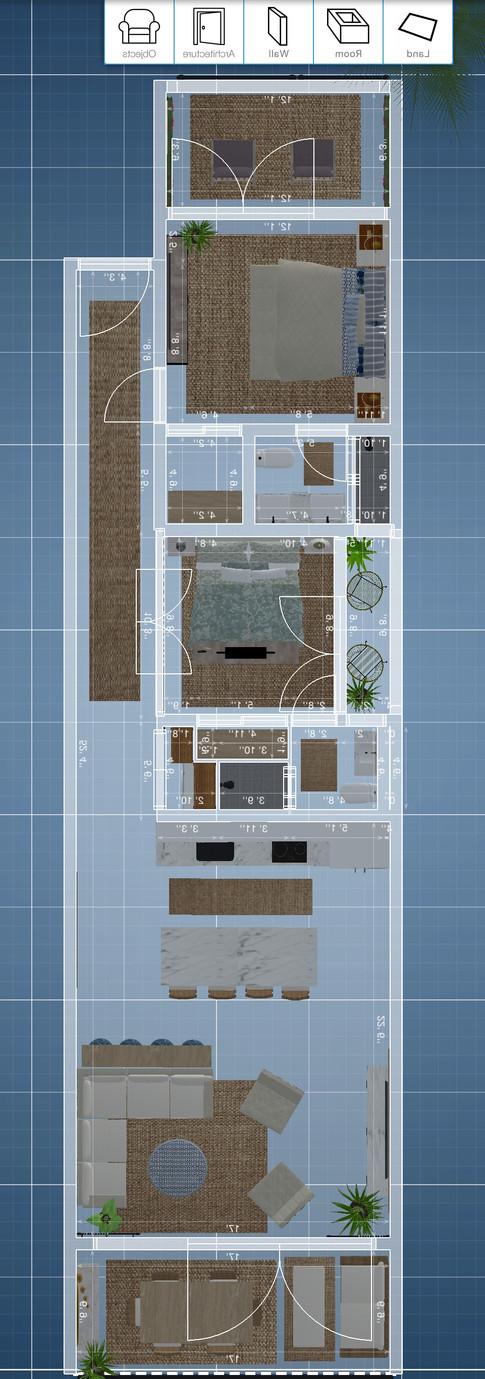 My renderings for the floorplan