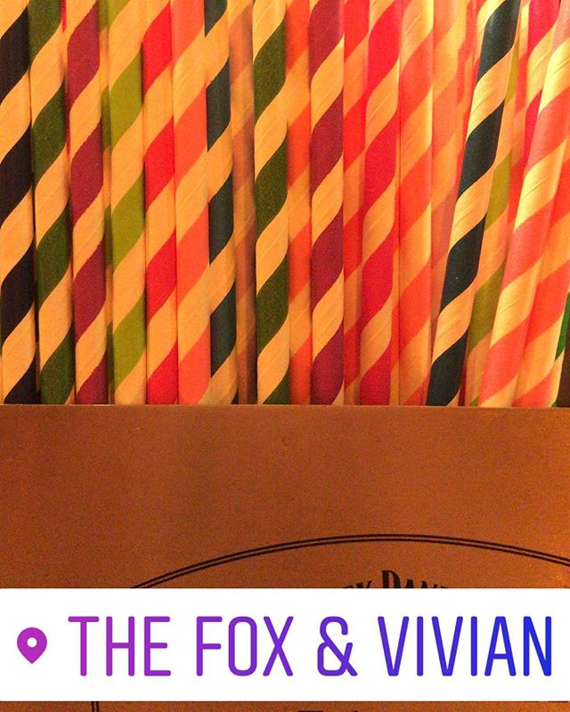 Joseph's straws were elegant, the cut was fine! #paperstraws #leamington #josephandtheamazingtechnic