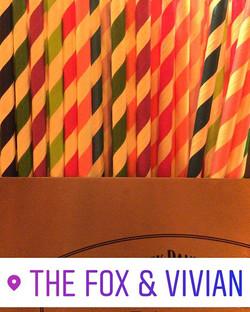 Joseph's straws were elegant, the cut was fine! #paperstraws #leamington #josephandtheamazingtechnic
